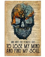 Skull Find My Soul 16x24 Poster front