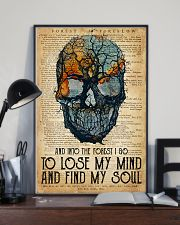 Skull Find My Soul 16x24 Poster lifestyle-poster-2