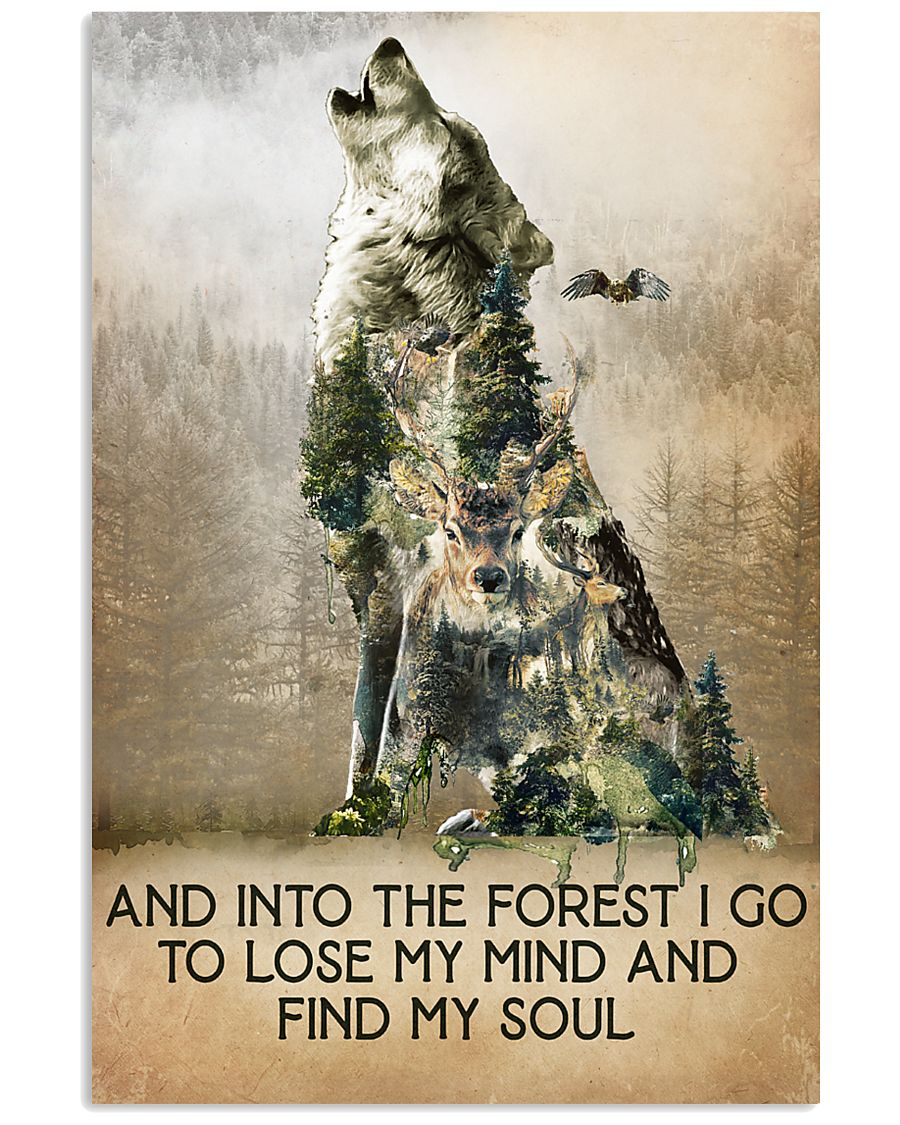Camping  And Into The Forest 16x24 Poster