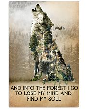 Camping  And Into The Forest 16x24 Poster front
