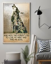 Camping  And Into The Forest 16x24 Poster lifestyle-poster-1