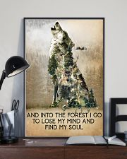 Camping  And Into The Forest 16x24 Poster lifestyle-poster-2