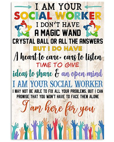 Social Worker I Am Here For You