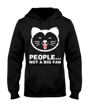 People not a big fan Hooded Sweatshirt thumbnail
