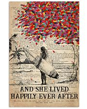 Surfing Happily Ever After 16x24 Poster front