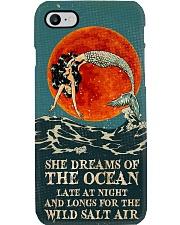 Mermaid She Dreams Of The ocean Phone Case i-phone-8-case