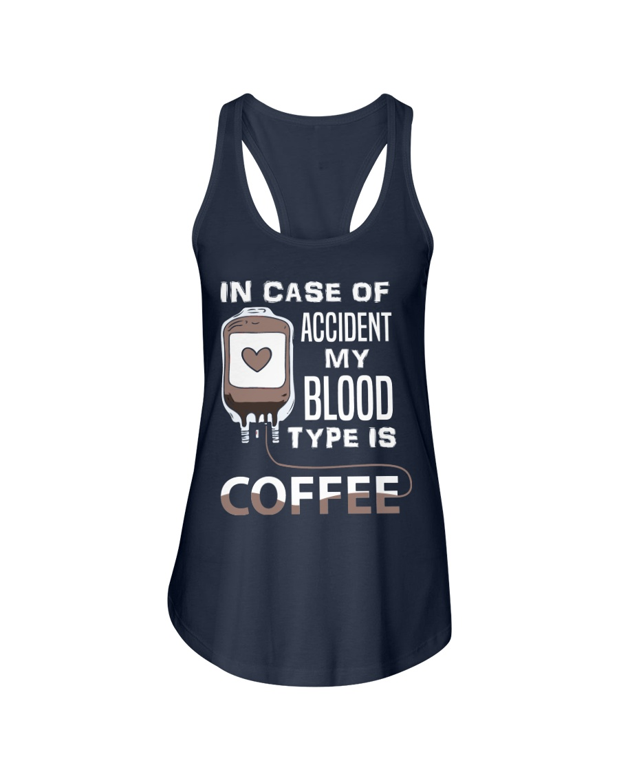 Coffee Blood Ladies Flowy Tank