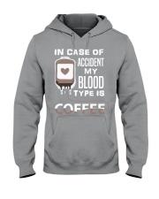 Coffee Blood Hooded Sweatshirt thumbnail