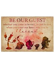 Be Our Guest 36x24 Poster front
