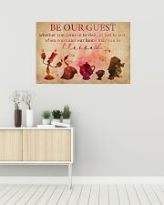 Be Our Guest 36x24 Poster poster-landscape-36x24-lifestyle-01