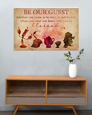 Be Our Guest 36x24 Poster poster-landscape-36x24-lifestyle-21