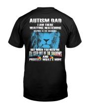 Autism Dad Classic T-Shirt back