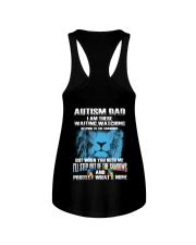 Autism Dad Ladies Flowy Tank tile