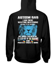 Autism Dad Hooded Sweatshirt thumbnail
