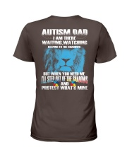 Autism Dad Ladies T-Shirt thumbnail