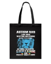 Autism Dad Tote Bag tile