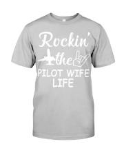 pilot wife Classic T-Shirt tile