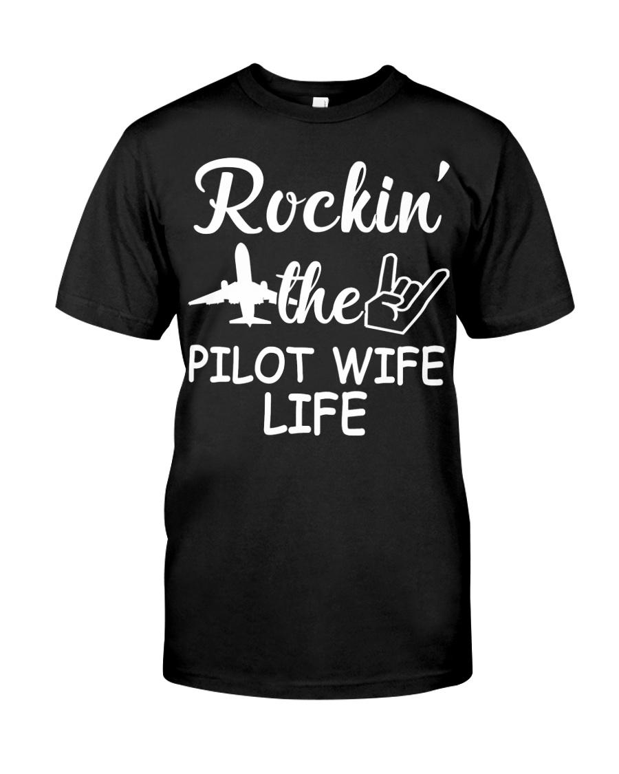 pilot wife Classic T-Shirt