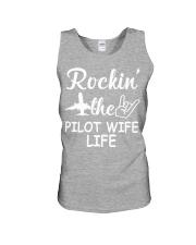 pilot wife Unisex Tank thumbnail