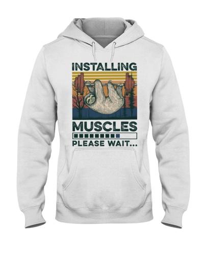 Fitness Installing Muscles Please Wait