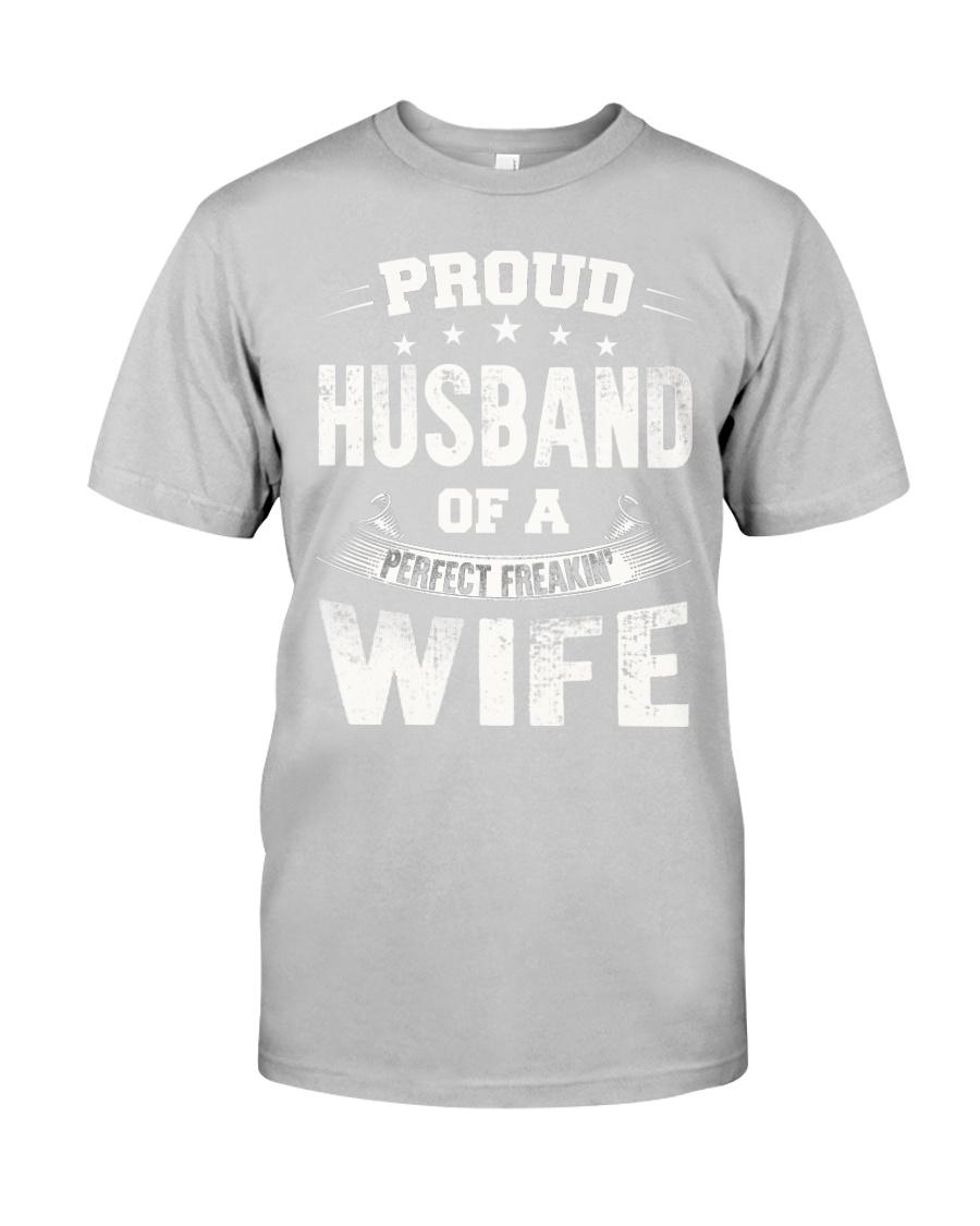 Proud husband  Classic T-Shirt showcase