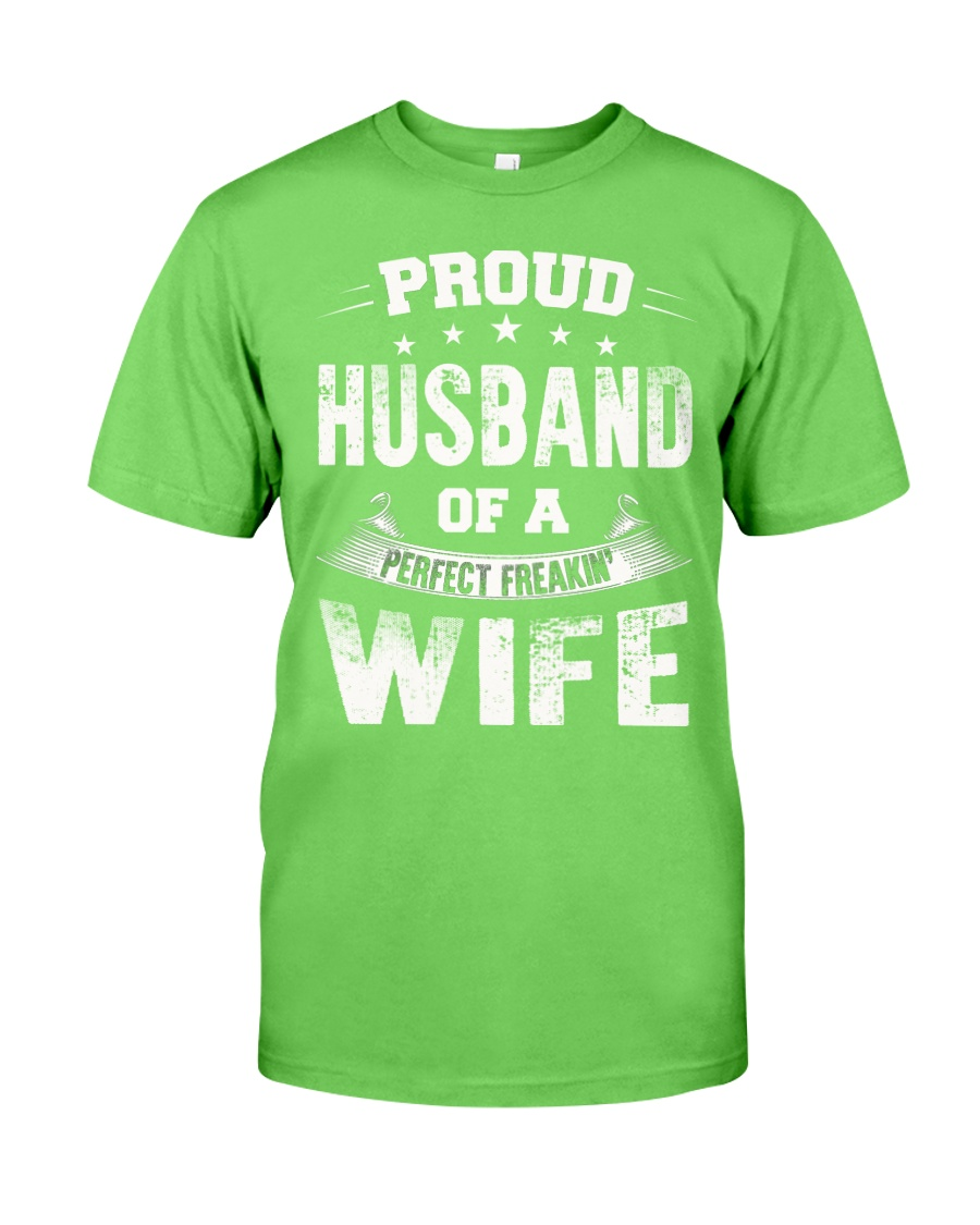 Proud husband  Classic T-Shirt showcase