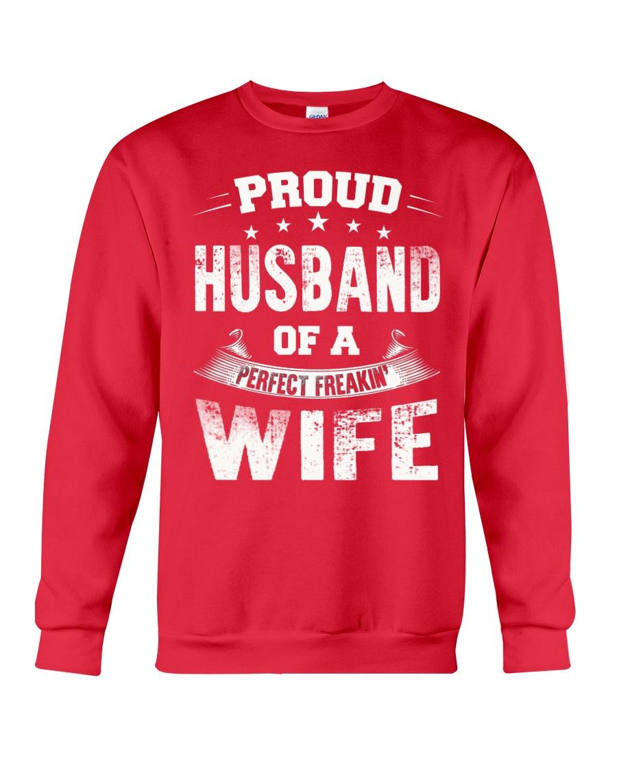 Proud Husband  Crewneck Sweatshirt