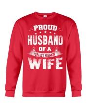 Proud Husband  Crewneck Sweatshirt front