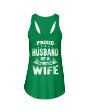 Proud Husband  Ladies Flowy Tank front