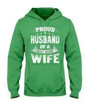 Proud Husband  Hooded Sweatshirt front