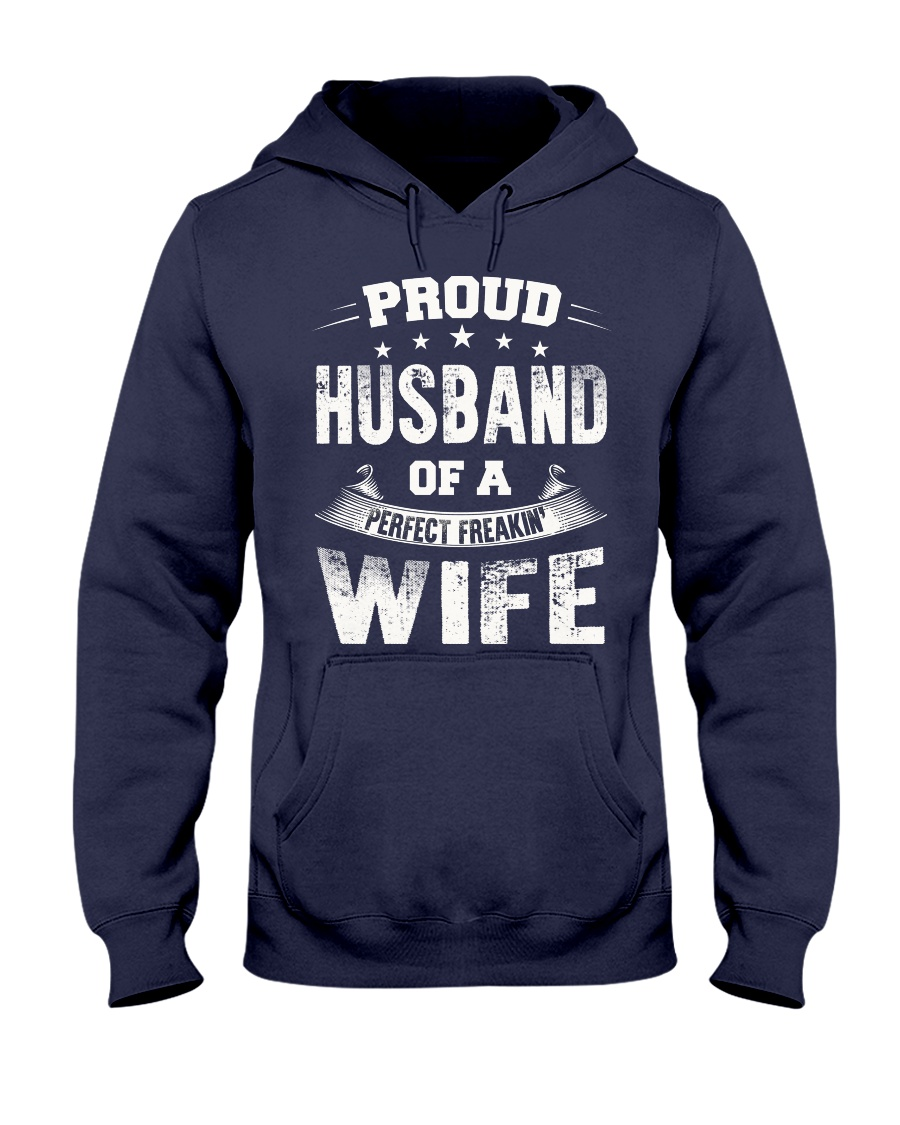Proud Husband  Hooded Sweatshirt