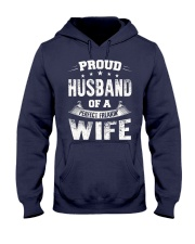 Proud Husband  Hooded Sweatshirt front