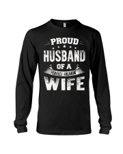 Proud Husband  Long Sleeve Tee front