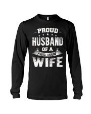 Proud husband  Long Sleeve Tee thumbnail