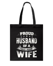 Proud Husband  Tote Bag thumbnail