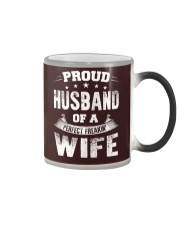 Proud Husband  Color Changing Mug thumbnail