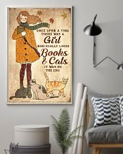 Books And Cats 16x24 Poster lifestyle-poster-1
