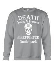 Death smiles at everyone Crewneck Sweatshirt thumbnail