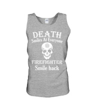 Death smiles at everyone Unisex Tank thumbnail