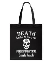 Death smiles at everyone Tote Bag thumbnail