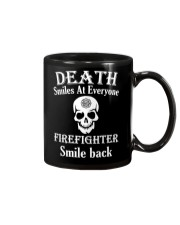 Death smiles at everyone Mug thumbnail