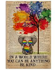 LGBT Be Kind 16x24 Poster front