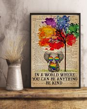 LGBT Be Kind 16x24 Poster lifestyle-poster-3