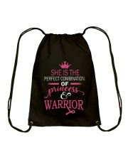 She is the perfect combination Drawstring Bag thumbnail
