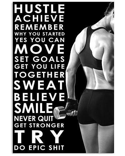 Gym Hustle Achieve