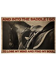 Horse Find My Soul 36x24 Poster front