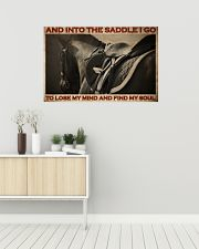 Horse Find My Soul 36x24 Poster poster-landscape-36x24-lifestyle-01