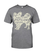 Life is better with papilons around Classic T-Shirt thumbnail