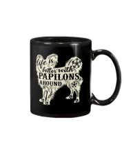 Life is better with papilons around Mug thumbnail