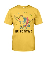 Be Positive Classic T-Shirt thumbnail